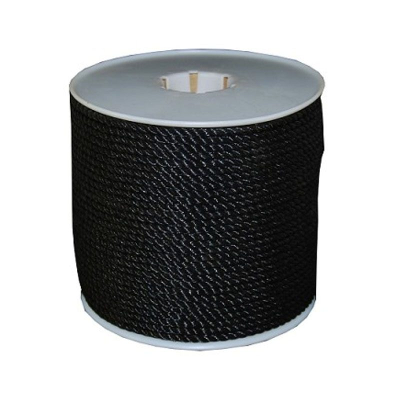 Black Polypropylene Rope