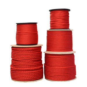 Red Poly Dacron Rope